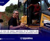 Agricultores da PA Clesinho São Atendidos Com Cortes de Ladeiras e Reabertura de Estradas Vicinais